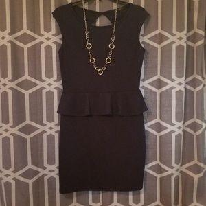 Soprano bodycon dress (navy blue)